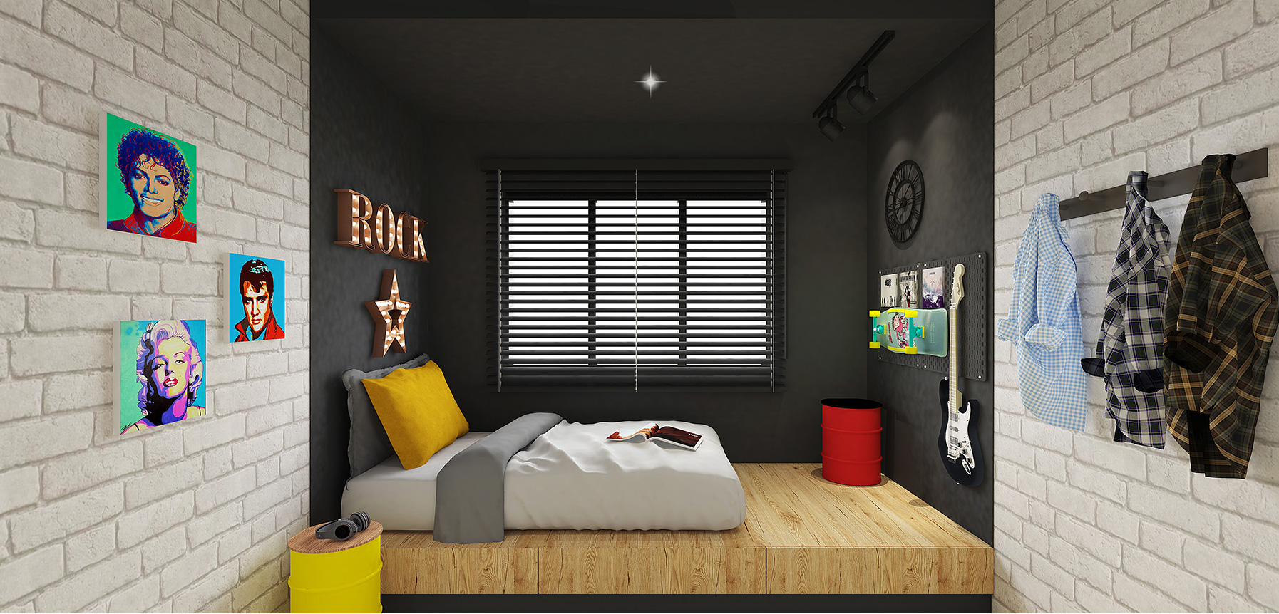 Sempurna Damai Bedroom